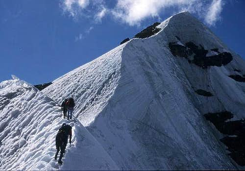 on the south west ridge of...