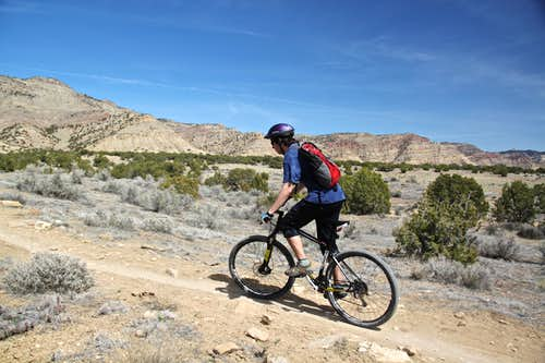 Book Cliffs mountain biking