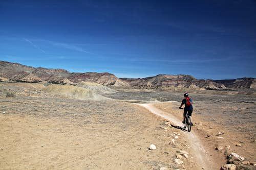 Book Cliffs mountain biking