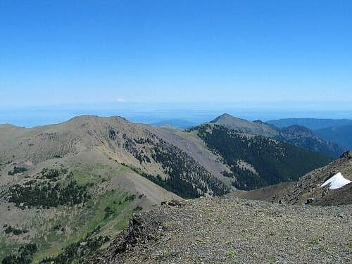 From near the summit of Gray...