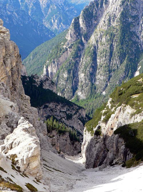 Noname gorge to Vallon di Rinbon