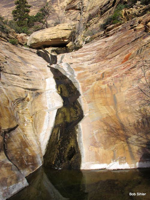 Waterfall in Oak Creek Canyon