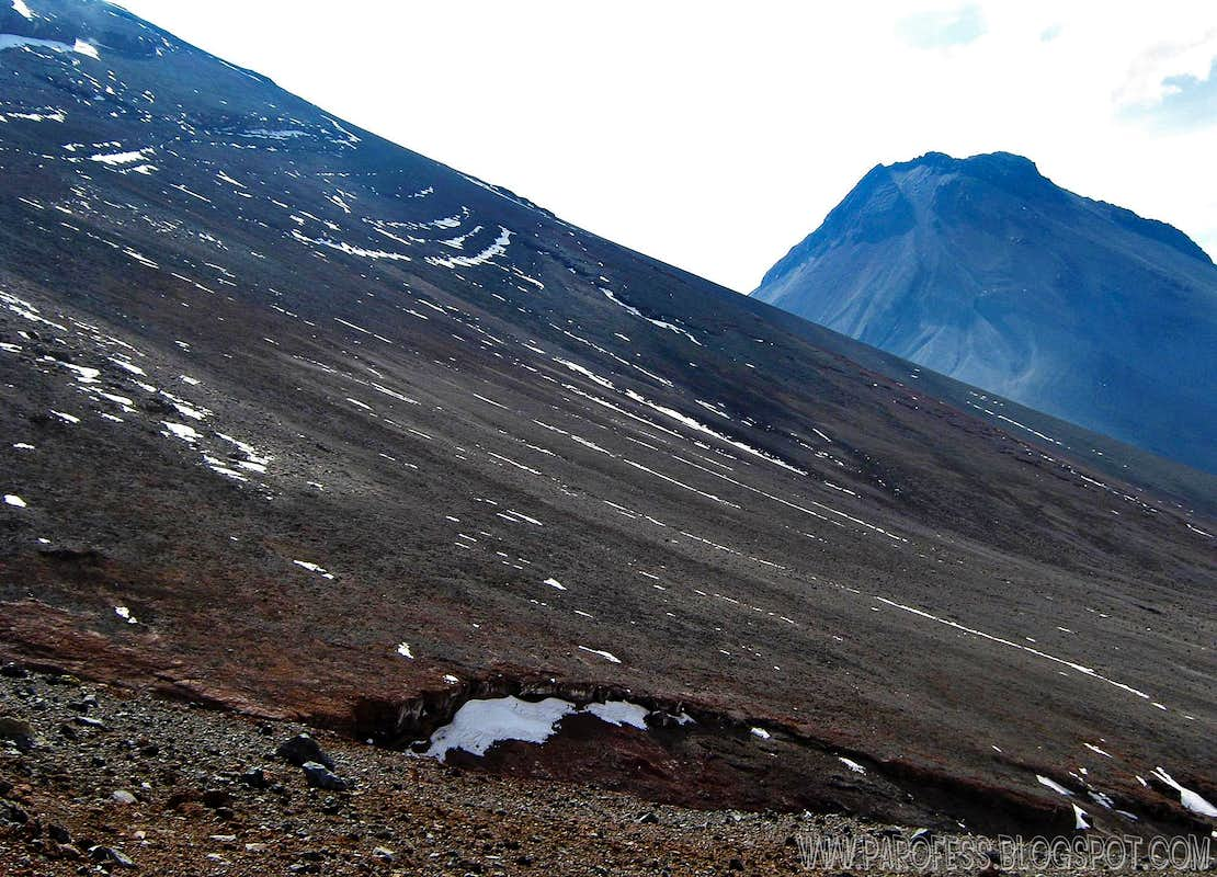 Slopes of Lascar with Simbad at short distance