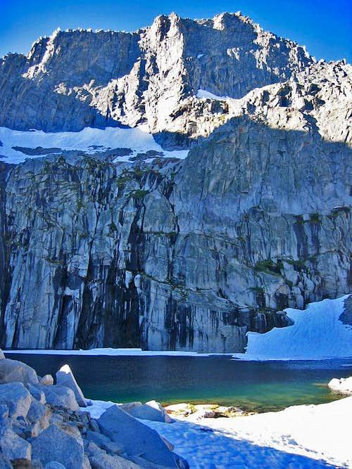 High Sierra Trail Precipe Lake
