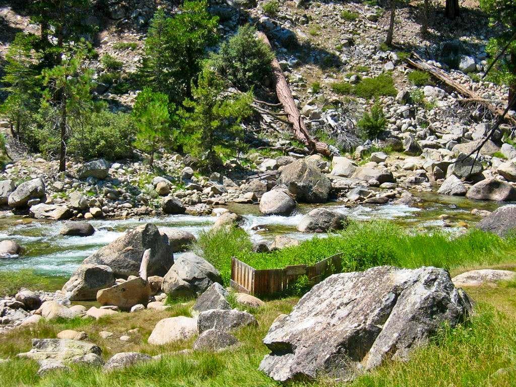 High Sierra Trail Kern Hot Springs