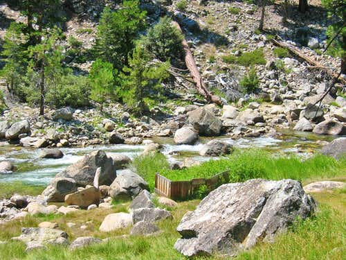 High Sierra Trail Kern Hot Springs