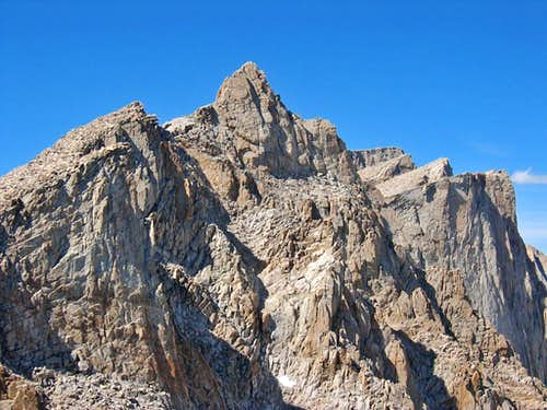 Mt. Muir, Pinnacles & Mt. Whitney