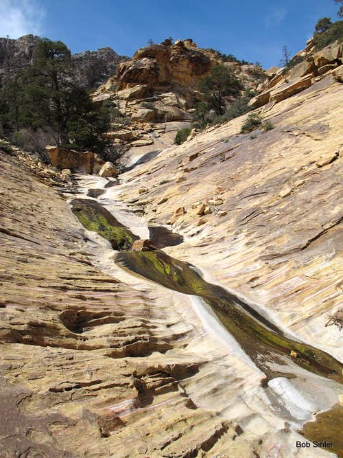 Watercourse Out of Oak Creek Canyon (Photo #1 of 3)