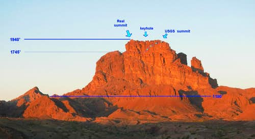 Picacho- USGS Map Errors