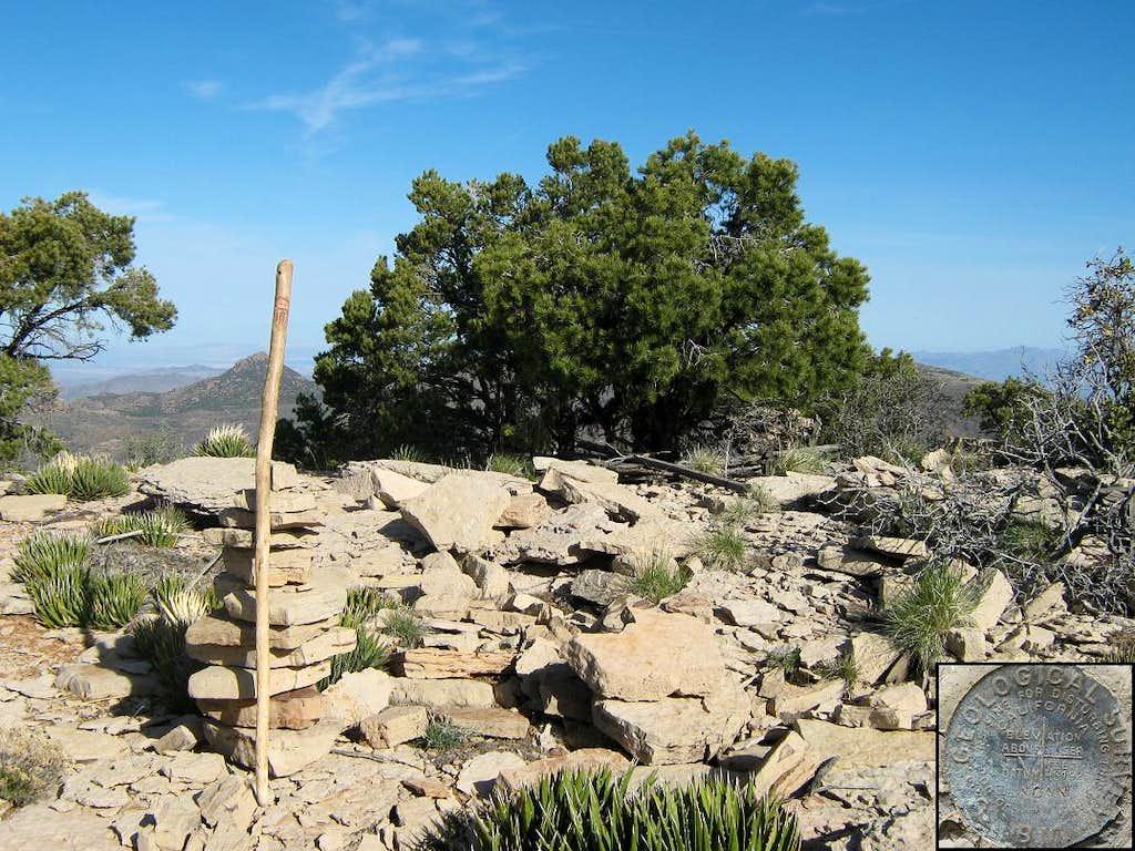 Duncan Benchmark (Grand Wash Cliffs) AZ