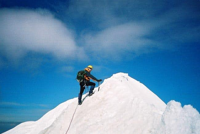 Moench Summit Ridge