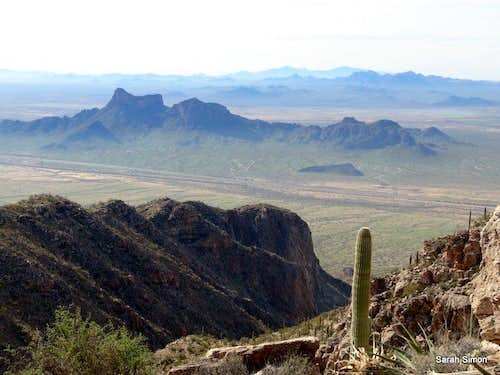 Picacho Peak and Razorback Ridge