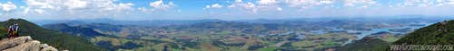 180 degree view from Lopo Peak summit