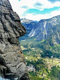 Across  Yosemite Valley to Glacier Point