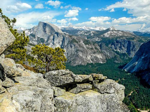 East from Yosemite Point
