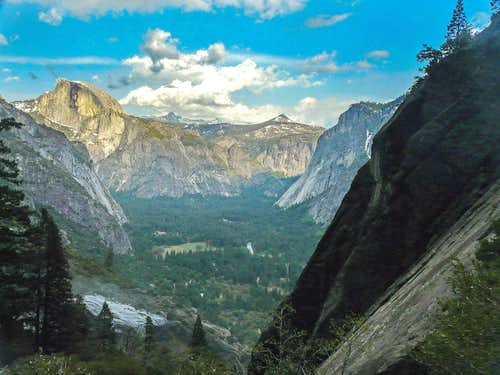 Yosemite Valley High and Low