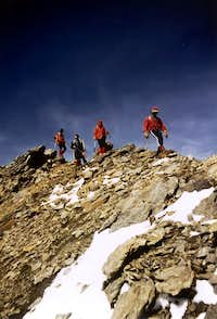 Peak Garin Company in Descent from Summit, 1978