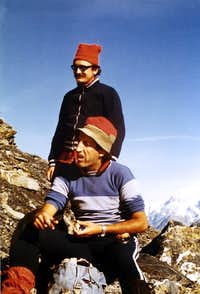 Peak Garin (3461 metres) Hunger of Summits, 1978