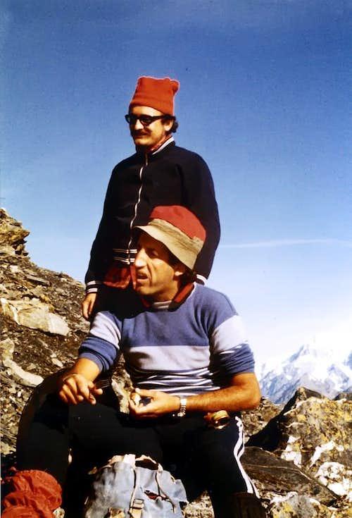 Peak Garin (3461 metres) Hunger of Summits, 1978