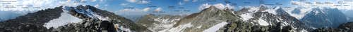 Annotated 360° panorama from Nördliches Pollesjoch