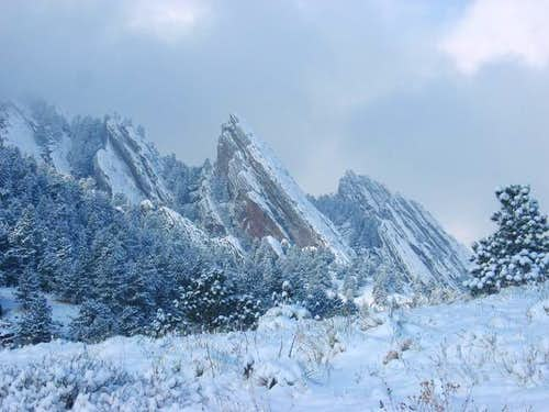 Flatirons as seen from near...