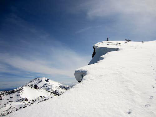 Lassen Peak from Brokeoff