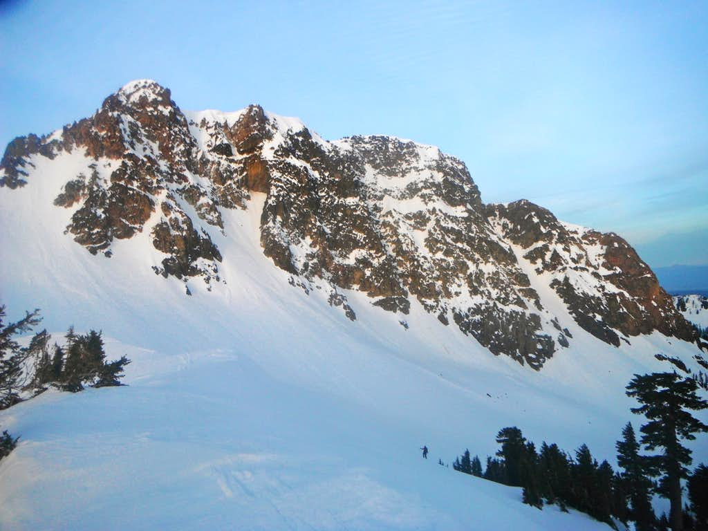 The North Face of Brokeoff Mountain and the Neutrino Couloir