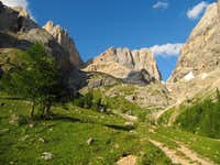 Marmolada South Wall