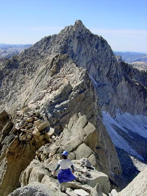 Climbing down Whorl's spine -...
