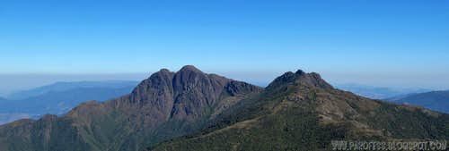 Marins Peak and Marinsinho Peak..
