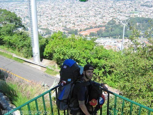 Cerro San Bernardo summit
