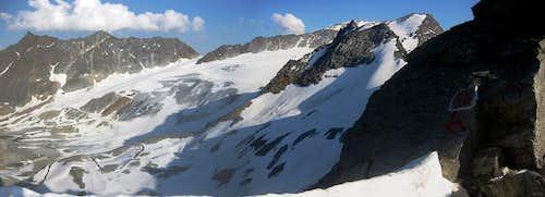 Panorama of Äußere and Innere Schwarze Schneide