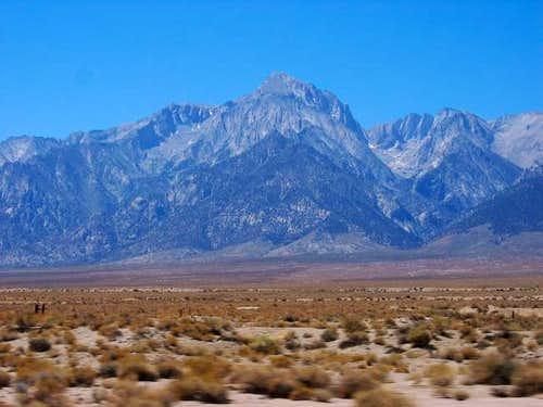 Mt. Williamson- one of the...