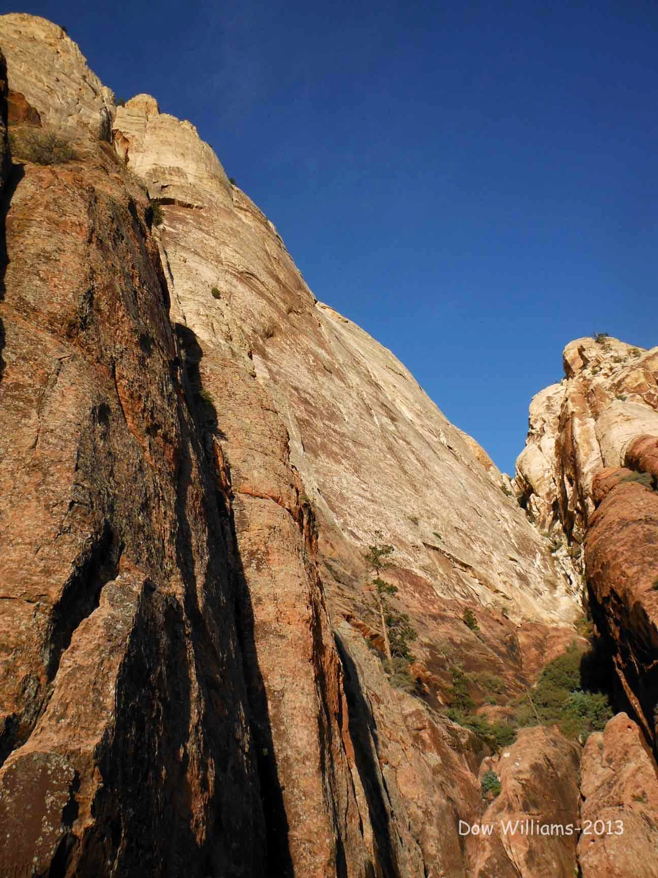 Gift of the Wind Gods, 5.10d, 9 Pitches