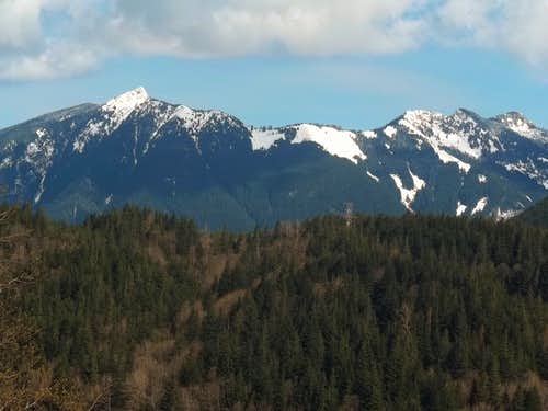 Teneriffe and Green Mountain