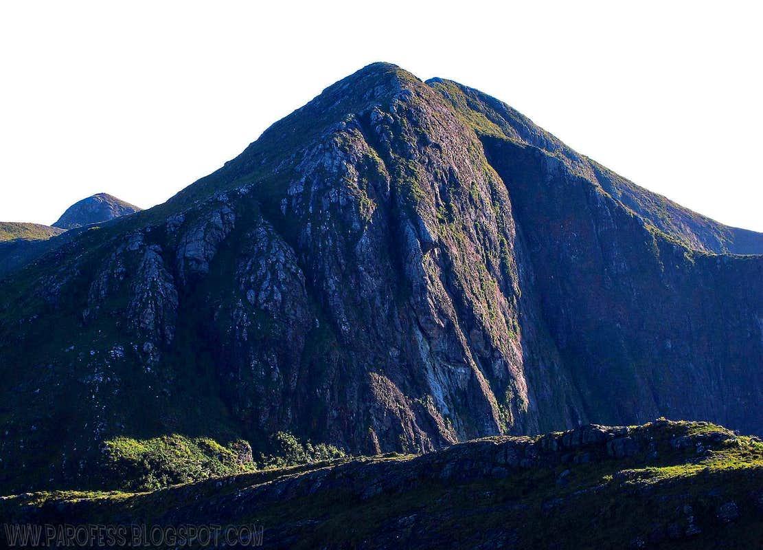 Tesouro Peak: 2.630 m
