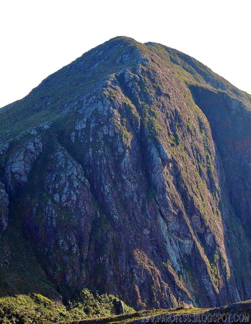 Tesouro Peak wall