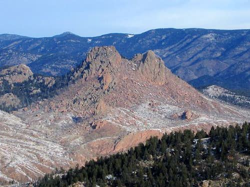 Raleigh Peak\'s (8183\') south...