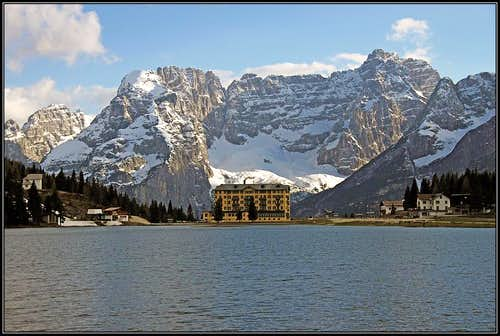 Sorapiss from Misurina