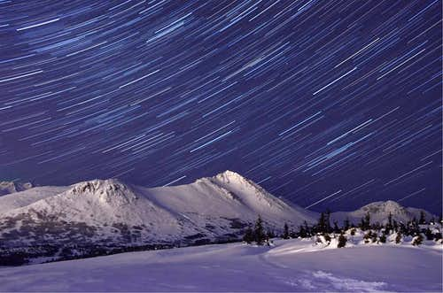 Chugach Star Trails