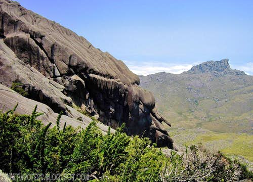 Slopes of Agulhas Negras Peak...