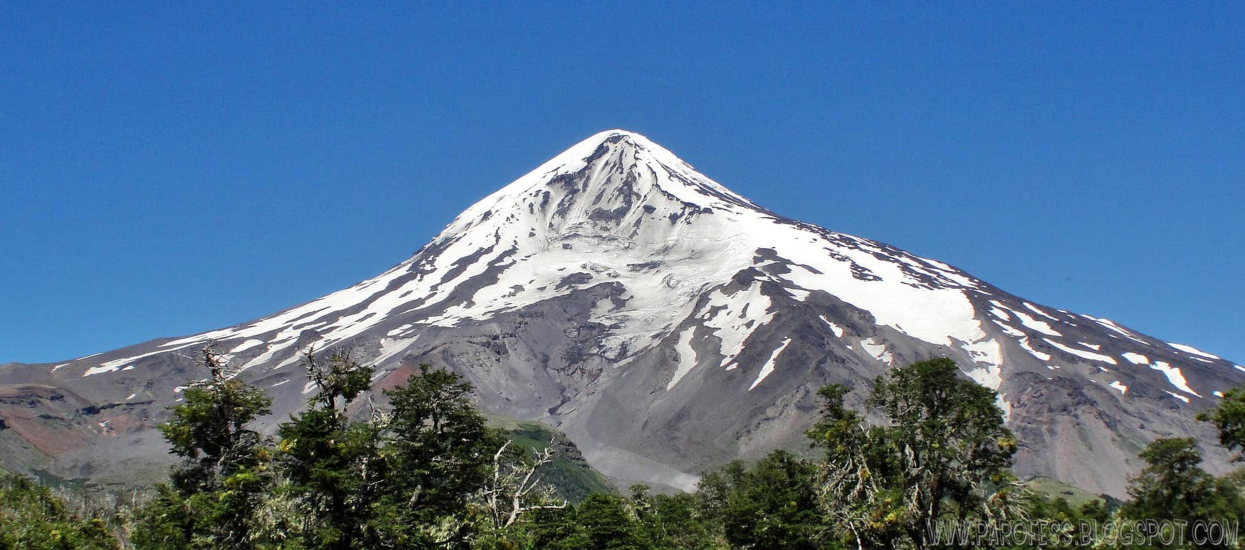 Lanin volcano : Climbing, Hiking & Mountaineering : SummitPost