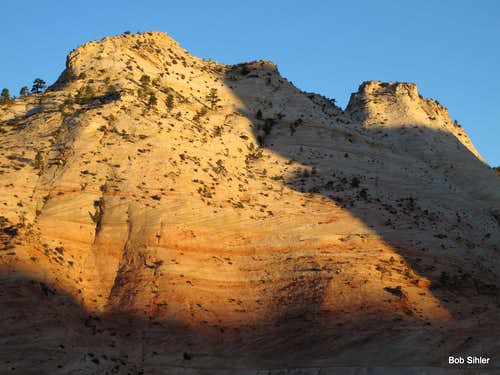 South Ariel Peak and Aires Butte, Dawn
