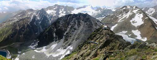 Rotkogel summit panonorama