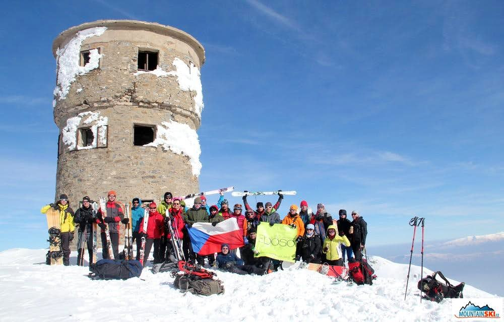 Summit of Titov vrv