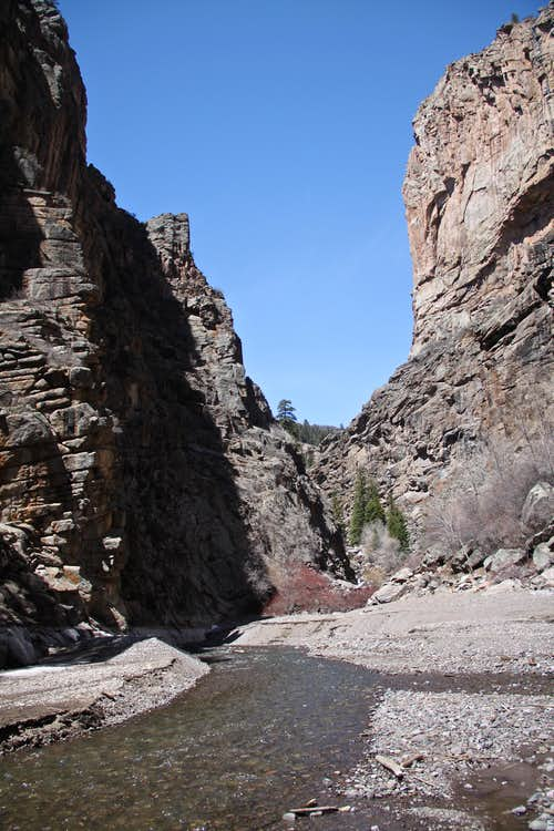 Curecanti Creek Canyon