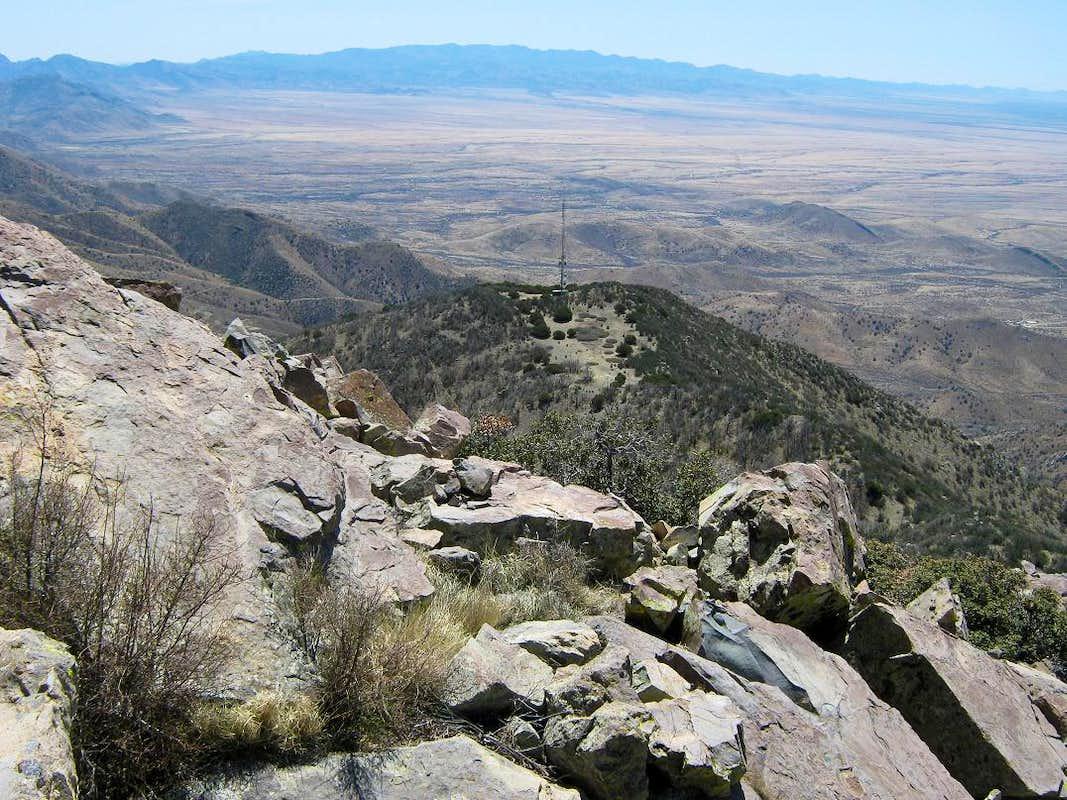Dos Cabezas Peaks Climbing Hiking Amp Mountaineering