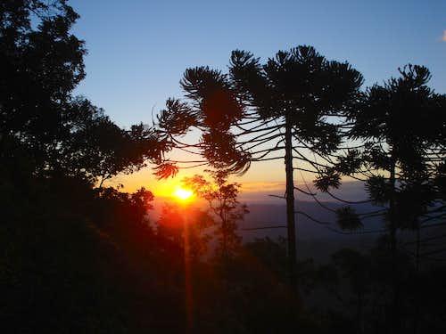 Sunset at Baú