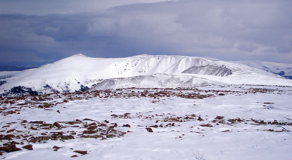 North and South Burro Peaks