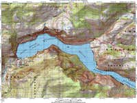 LeConte Point Route Map